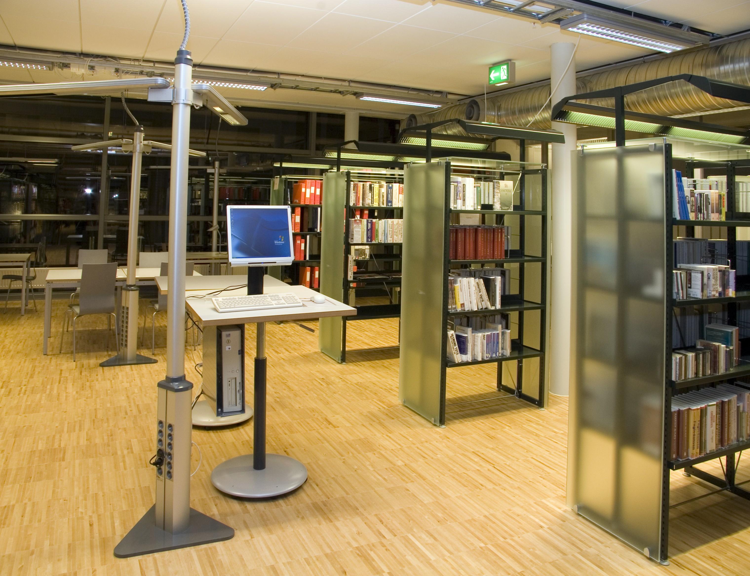 BCI Eurobib Library Computer Furniture bluesyemre