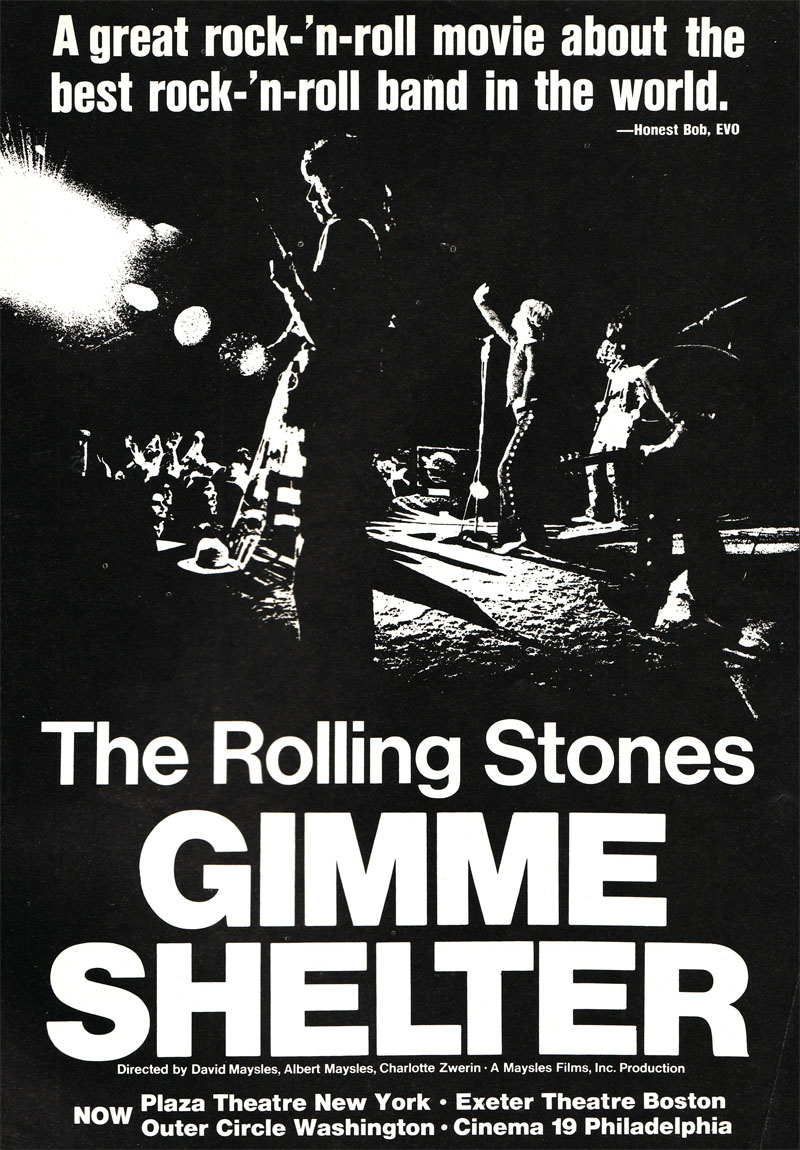 MEJORES DOCUMENTALES MUSICALES Gimmeshelter