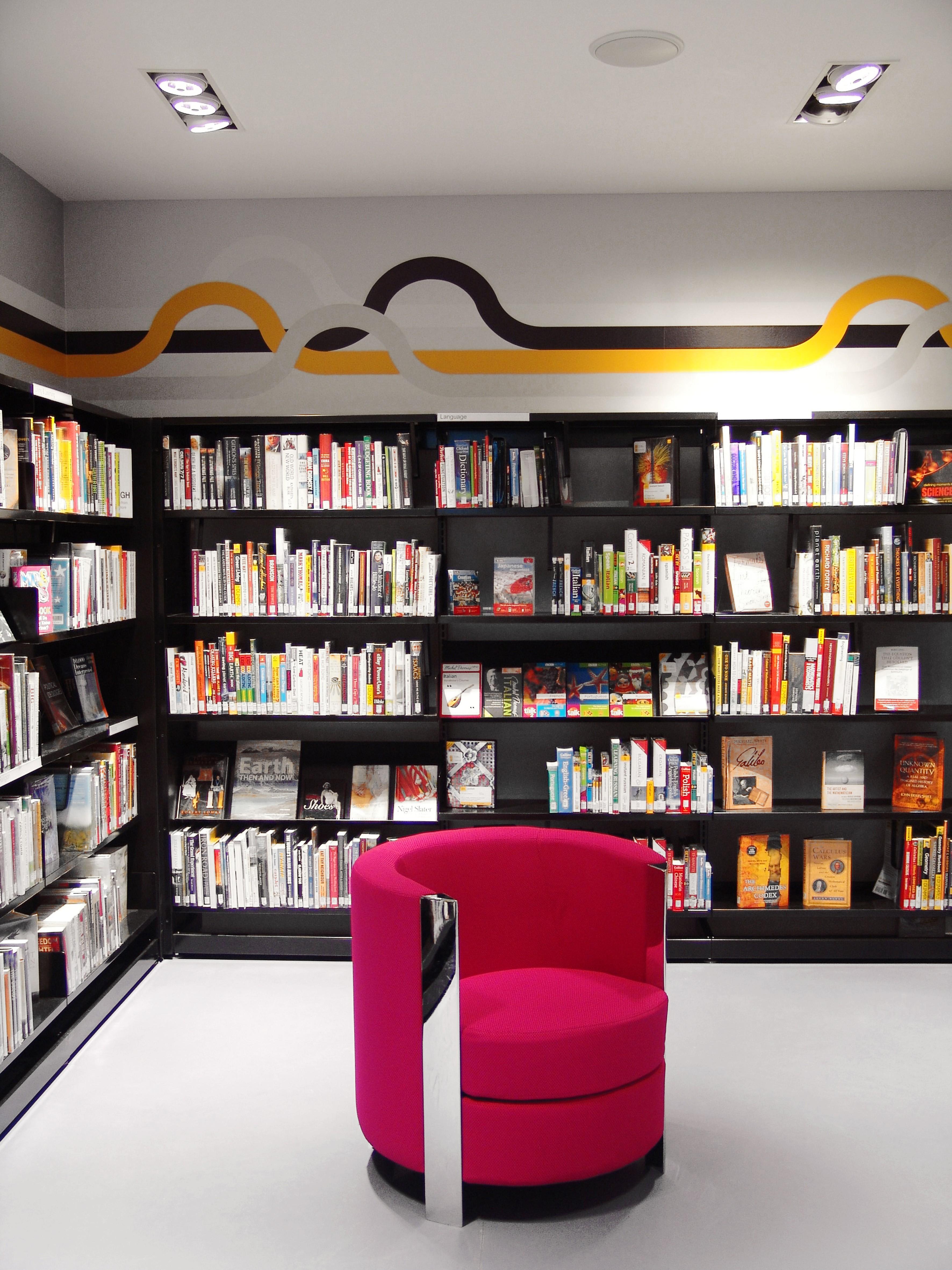 Modern Library Furniture Bluesyemre