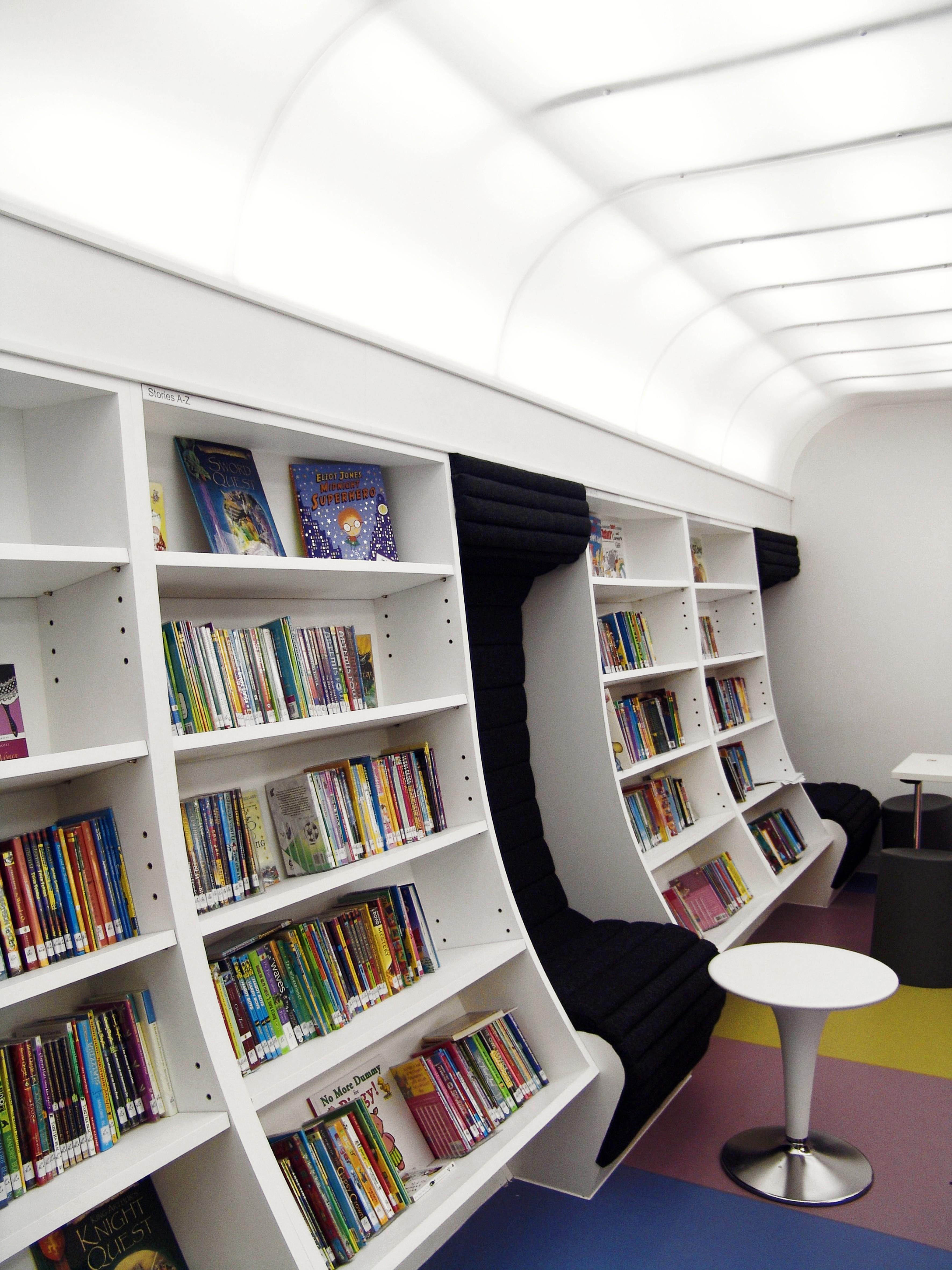 modern library shelving1 bluesyemre