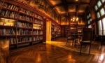 The Biltmore House Library in North Carolina