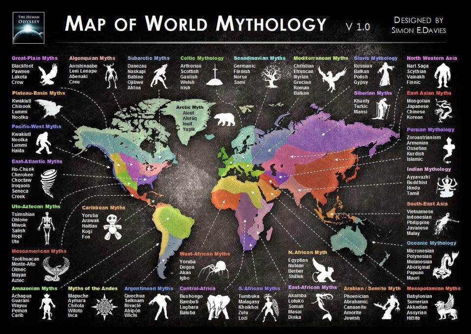 Myths and Legends of the World / Download PDF Books for Free