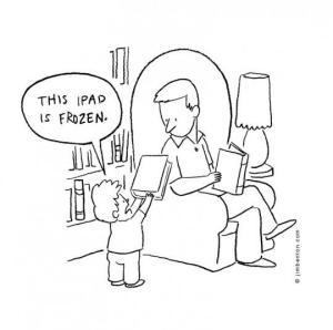 Frozen iPad