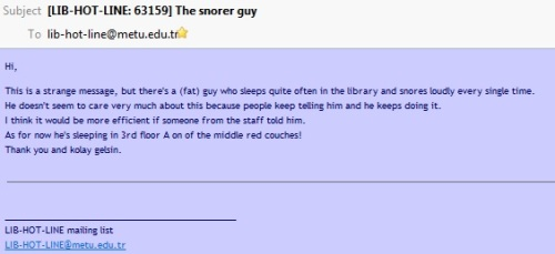 the snorer guy