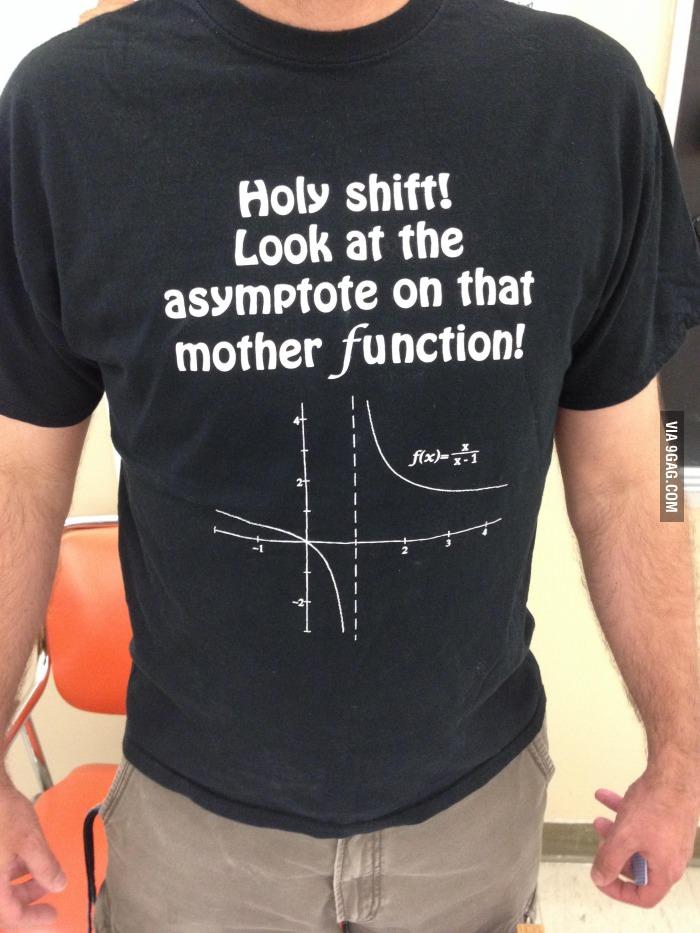 Math teacher's t-shirt | bluesyemre