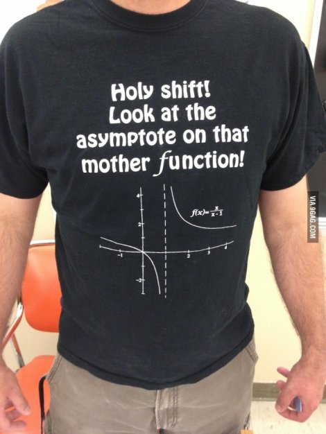 Math Teacher's t-shirt