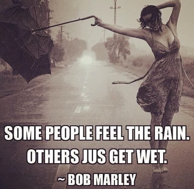 how to get randomly wet