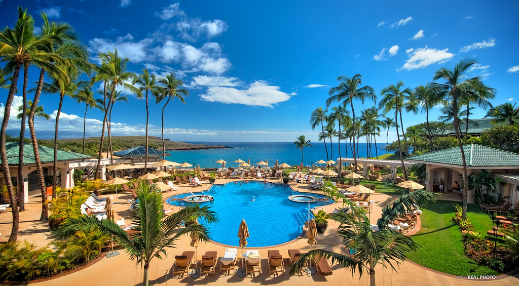 Former James Bond Actor Pierce Brosnan Disappointed By Spectre The Story Was Kind Of Weak besides Top 10 Most Famous Works Of Bill Bensley Architect moreover The Making Of Conde Nast Traveler New Logo as well Four Seasons Resort Lanai At Manele Bay further Thing. on four seasons lanai
