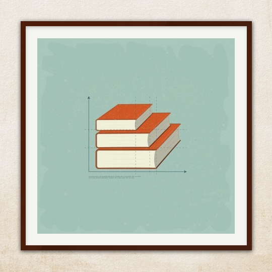 50 awesome posters that encourage to read bluesyemre for Best books on minimalism