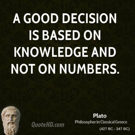 plato-philosopher-a-good-decision-is-based-on-knowledge-and-not-on