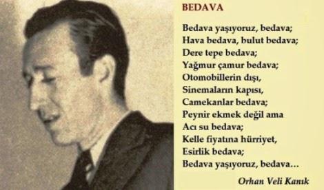 Orhan Veli Kanık 13 Nisan 1914 14 Kasım 1950 Bluesyemre