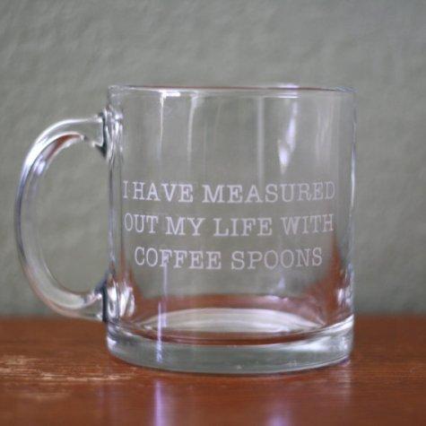 'Love Song of J. Alfred Prufrock' Coffee Mug