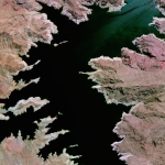 Lake Mead—located on the Colorado River 24 miles southeast of Las Vegas, Nevada