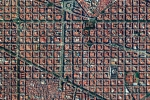 the Eixample District in Barcelona, Spain
