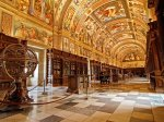 part-of-the-historical-residence-of-the-king-of-spain-the-royal-library-of-the-el-escorial-monastery-in-madrid-is-a-unesco-world-heritage-site-the-amazing-frescoes-painted-on-the-li