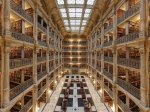 thanks-to-philanthropist-george-peabody-johns-hopkins-university-in-baltimore-maryland-has-a-gorgeous-library-complete-with-a-skylight-and-five-stories-that-look-down-onto-the-black