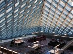 the-seattle-central-library-in-seattle-washington-has-11-stories-composed-of-steel-and-glass-allowing-for-plenty-of-reading-and-studying-room-the-central-library-is-a-branch-of-the-
