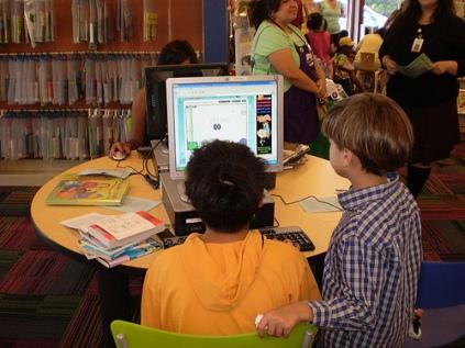 Kids at San Jose PL