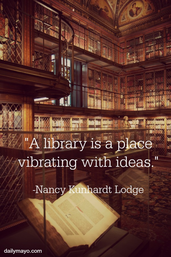 Library Love 60 Quotes That Showcase The Magic Of Libraries Simple Library Quotes