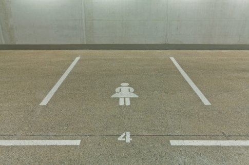 female only parking