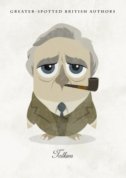 Great-authors-presented-as-owls-J.-R.-R.-Tolkien