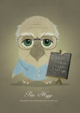 peter-higgs-greater-spotted-british-scientist-as-an-owl-prints