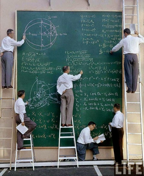 NASA before Powerpoint, 1961 (1)