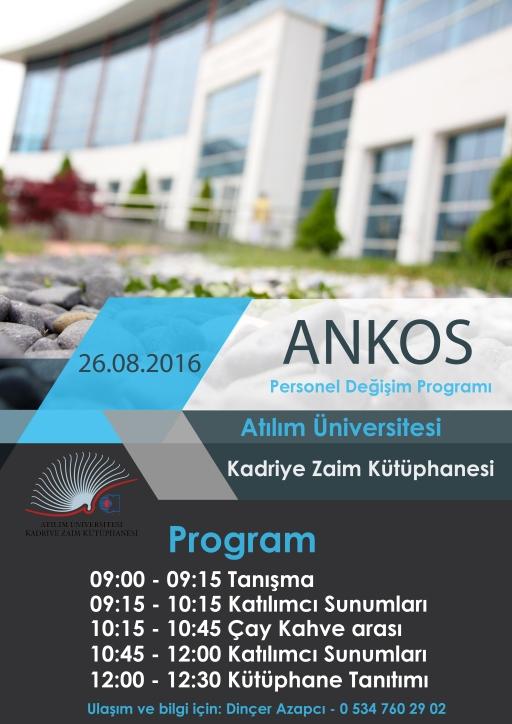 ANKOS Personel Değişimi 2016