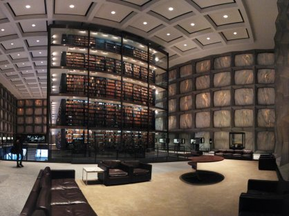 connecticut-yale-universitys-beinecke-rare-book-and-manuscript-library-located-in-new-haven-features-a-sunken-sculpture-garden-and-translucent-marble-windows