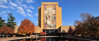indiana-the-newly-renovated-hesburgh-library-at-the-university-of-notre-dame-which-recently-celebrated-its-50th-anniversary-features-a-new-entrance-while-keeping-its-iconic-facade