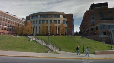 west-virginia-high-on-a-lush-hill-the-west-virginia-university-library-peers-over-the-morgantown-campus