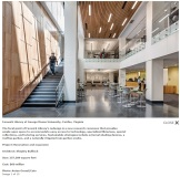 Fenwick Library at George Mason University, Fairfax, Virginia