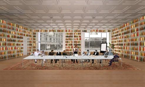 22_interior_collage_of_Dostoyevsky_Library_©_SVESMI