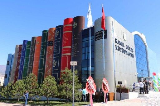 Kamil Güleç Kütüphanesi'nin açılış töreni (1)