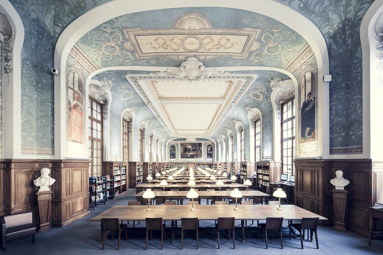 Biblioth que de la sorbonne salle jacqueline de romilly paris 2 1897 blu - Bibliotheque jacqueline de romilly ...