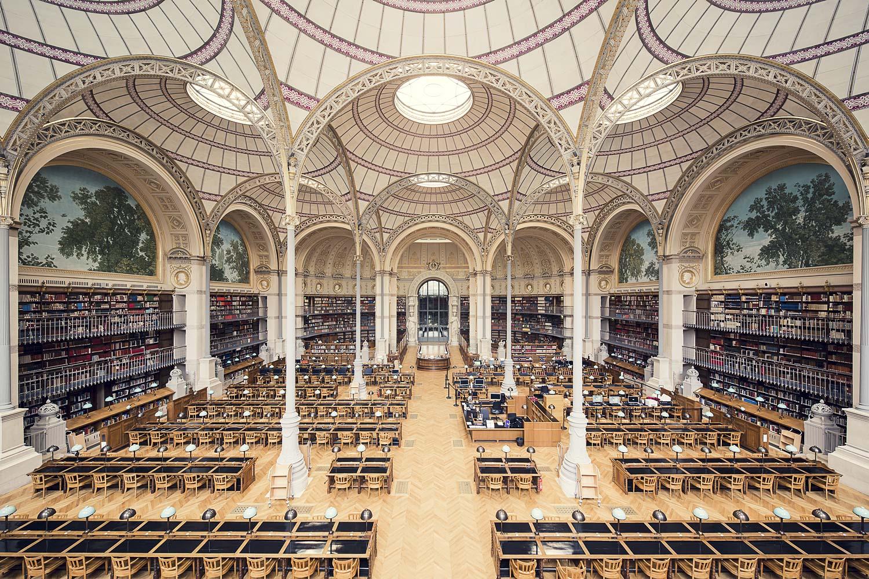 biblioth que nationale de france salle labrouste paris 1868 bluesyemre. Black Bedroom Furniture Sets. Home Design Ideas