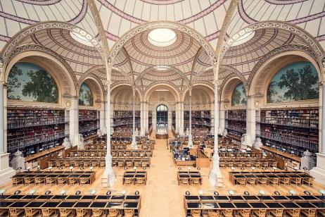 Bibliothèque Nationale de France, Salle Labrouste, Paris, 1868