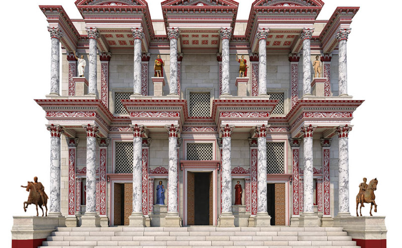 Virtual reconstruction of the #CelsusLibrary in #Ephesus ...