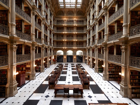The George Peabody Library
