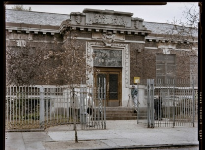 Saratoga Library, Brooklyn Public Library, Daus & Otto, 1908