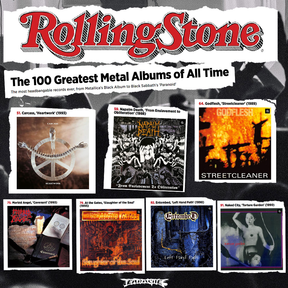 The 100 Greatest #Metal Albums of All Time by #RollingStone | bluesyemre