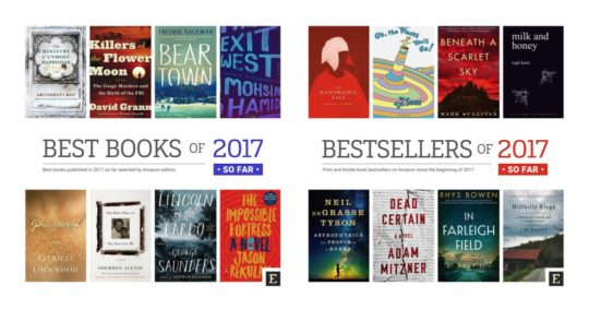 The Best #Books of 2017 by #Amazon | bluesyemre