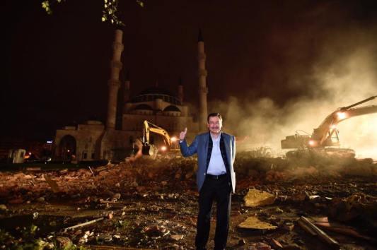 İller Bankası yıkılışı Melih Gökçek