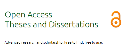 Image result for open access theses and dissertations