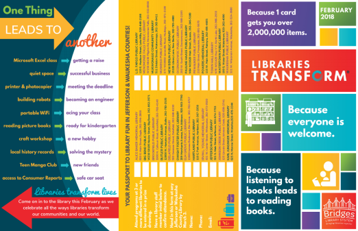 Bridges Library System Brochure