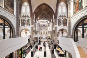 01-De Petrus, Netherlands-This library in Vught, Netherlands, used to be a church
