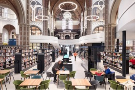 02-De Petrus, Netherlands-The building was constructed in the 1800s and was in bad shape, the local community came up with the idea of turning it into a library