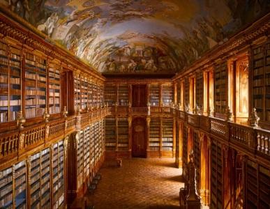 10-Strahov Abbey library, Czech Republic