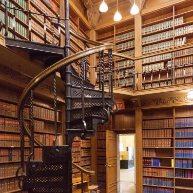 American Room, Great Library of the Law Society of Upper Canada, Osgoode Hall, Toronto, Canada