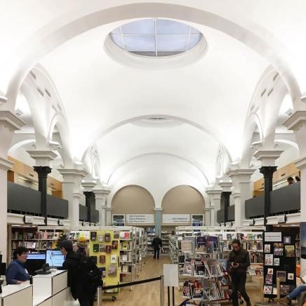 BCU Riponne, State and University Library Lausanne, Switzerland